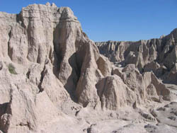 Badlands National Park, Erosion