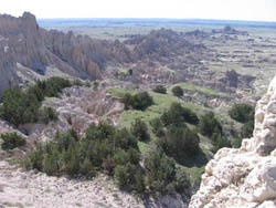Badlands - View to the South
